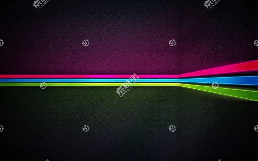 抽象,极简主义,线,红,蓝色,绿色,数字艺术57301