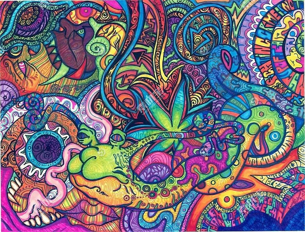 抽象,超现实主义,LSD,艺术品,毒品162929