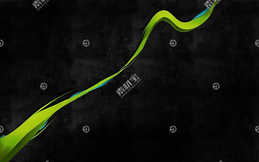 黑色,绿色,抽象,数字艺术,简单,黑色的背景,形状,简单的背景11599图片