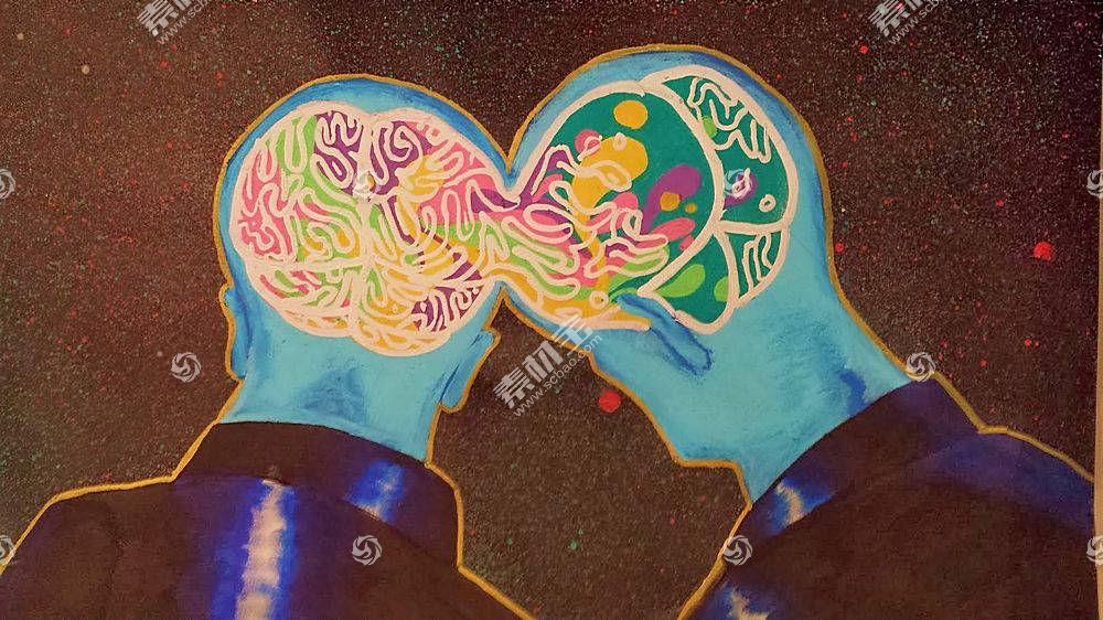 迷幻,抽象,艺术品,脑,心神533063