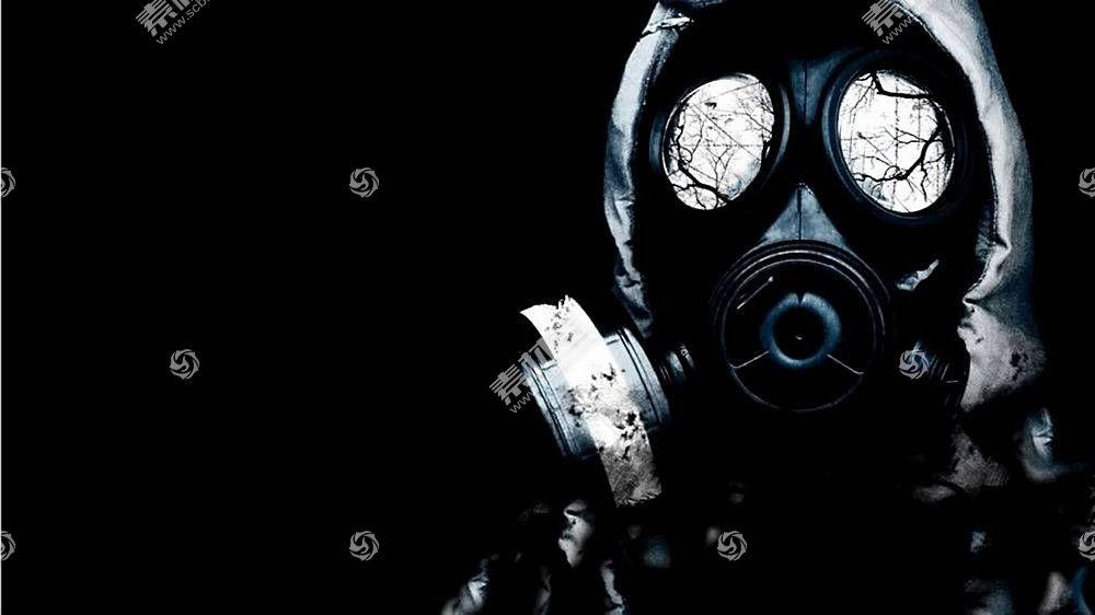 防毒面具,抽象,放射性的200689