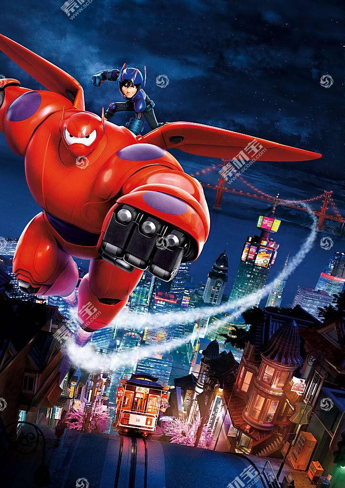 迪士尼,皮克斯动画工作室,Baymax(大英雄6),电影216776