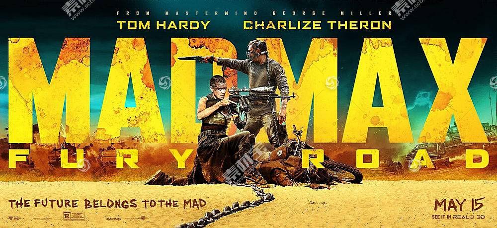 疯狂的麦克斯:狂暴之路,电影,汤姆哈代,查理兹塞隆,疯狂的麦克斯