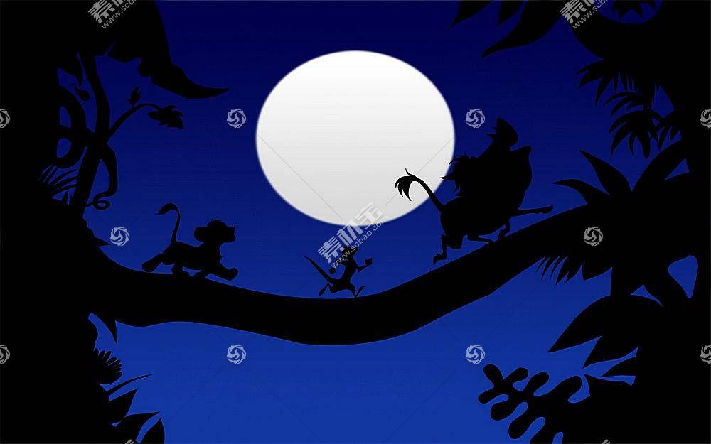 狮子王,动画片,动画电影,辛巴,月亮246067