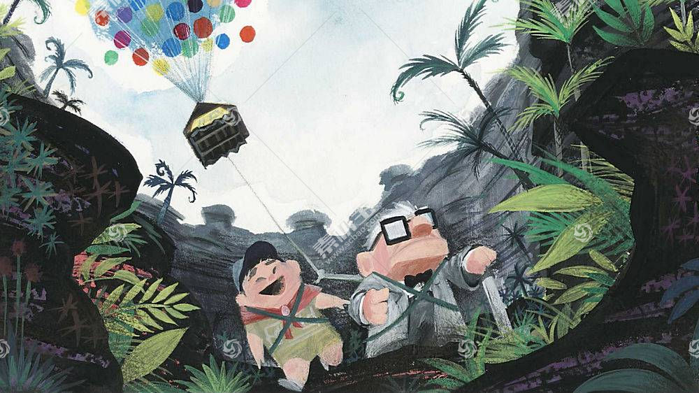 电影,Up(电影),动画电影,皮克斯动画工作室54099