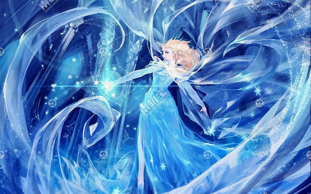埃尔莎公主,冰,冷冻(电影),艺术品,电影35594