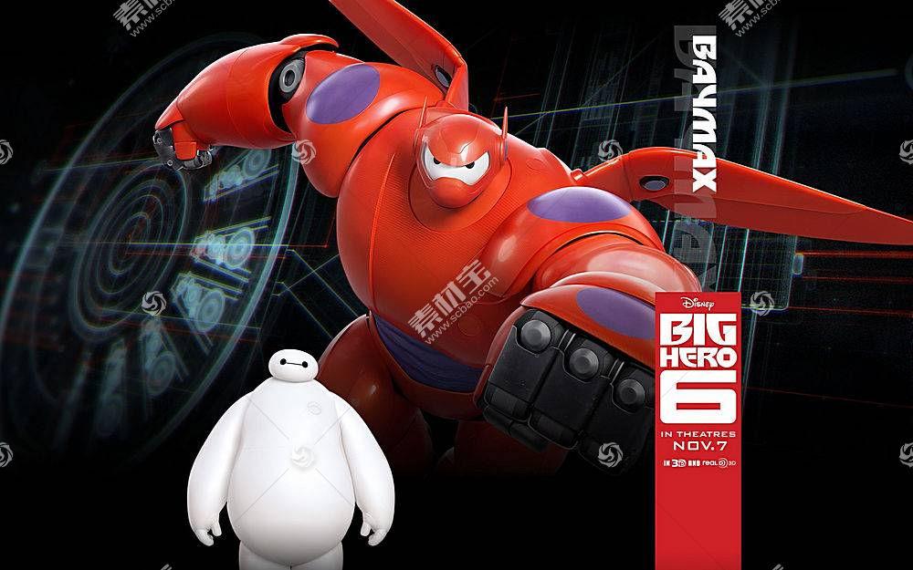 Baymax(大英雄6),大英雄6,华特迪士尼,迪士尼,动画电影,电影111