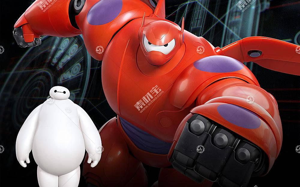 Baymax(大英雄6),大英雄6,电影,动画电影57070