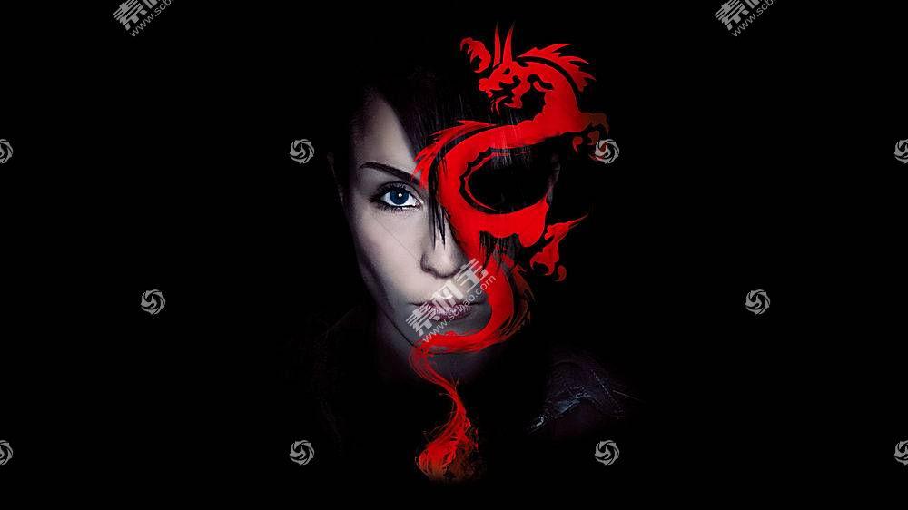 Lisbeth Salander,龙纹身的女孩,斯蒂格拉尔森,龙,黥,电影,黑暗29