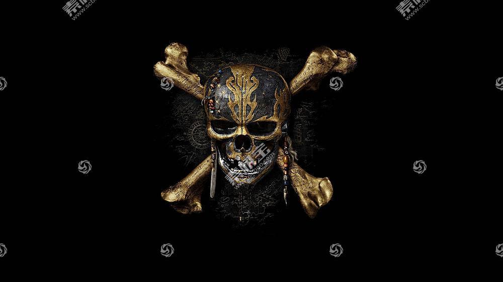 头骨,骨头,海盗,加勒比海盗:死人不告诉故事,电影,加勒比海盗481