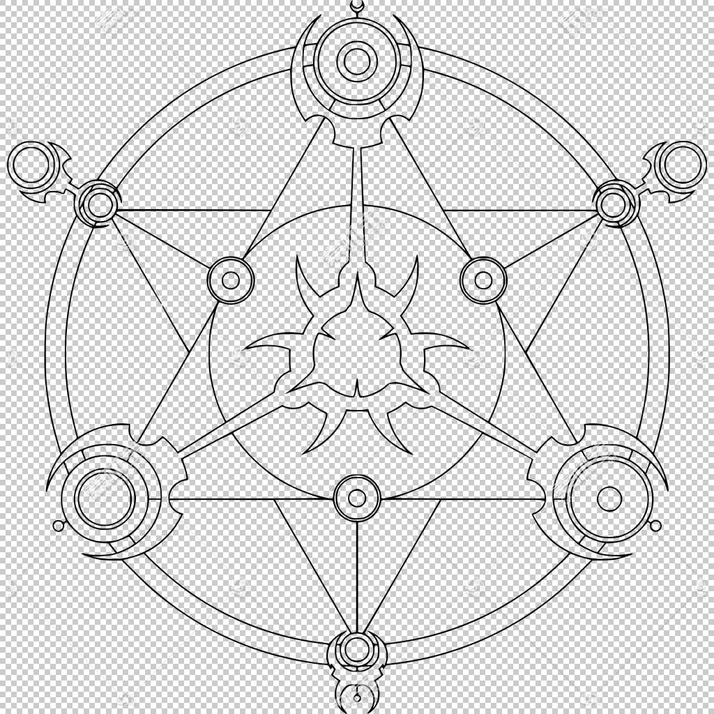 魔术圈线条艺术,无限PNG剪贴画角度,对称性,无穷大,汽车部分,魔术