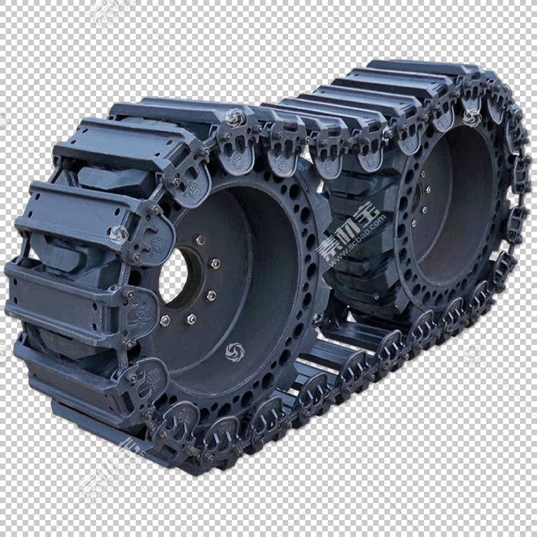 轮胎卡特彼勒公司约翰迪尔滑移装载机,轮胎打印PNG剪贴画汽车零件