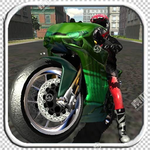 轮胎摩托车车轮死亡摩托城市赛车3D自行车,摩托车PNG剪贴画排气系