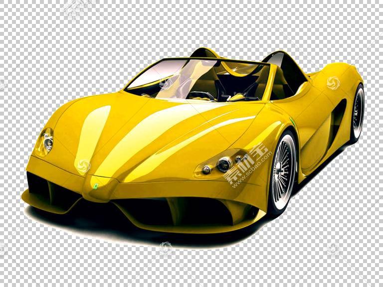 跑车,黄色跑车PNG剪贴画模板,cdr,汽车事故,运动,海报,电脑壁纸,