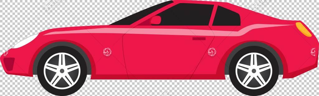 跑车Mazda6车,红色卡通跑车PNG剪贴画卡通人物,紧凑型车,摄影,汽