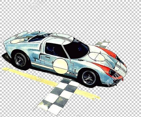 跑车水彩绘画插图,水彩跑车插图PNG剪贴画水彩叶子,简单,运动,汽