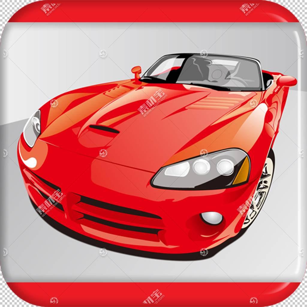 跑车汽车公司城市赛车未来派汽车3D,红色汽车PNG剪贴画紧凑型汽车