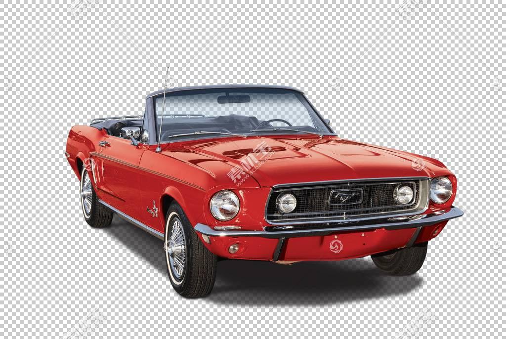 跑车汽车福特野马福特汽车公司,经典汽车PNG剪贴画敞篷车,汽车,车