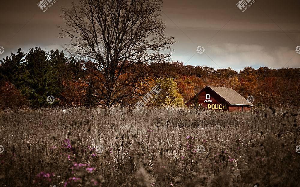 96626,地球,风景,秋天,车库,草地,壁纸