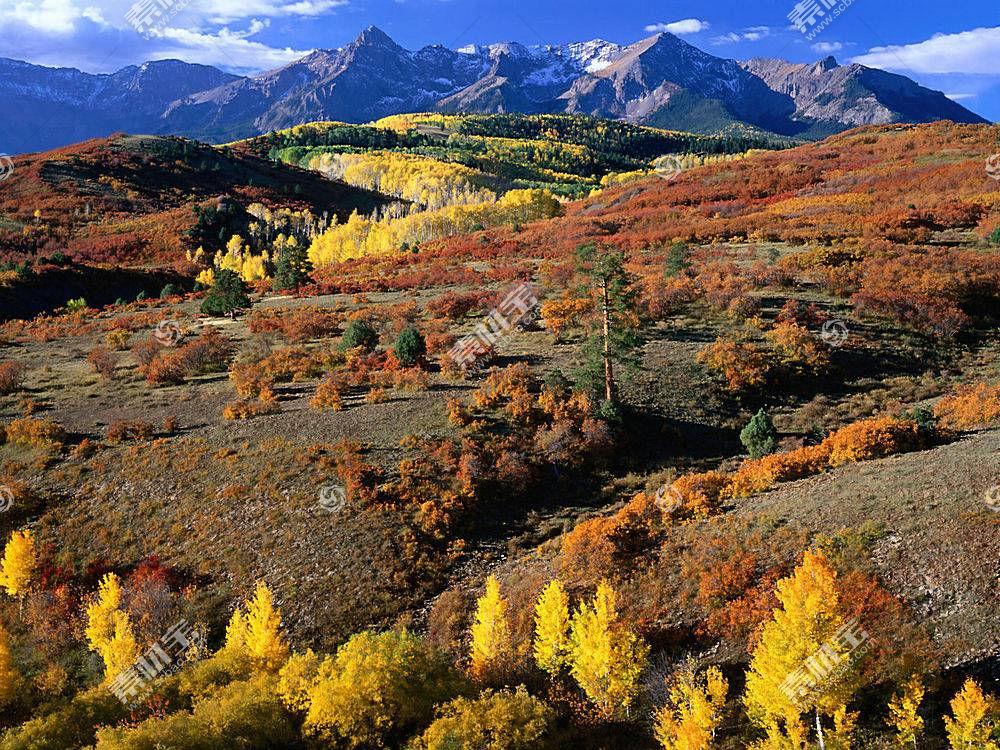 15416,地球,山,山脉,秋天,壁纸图片