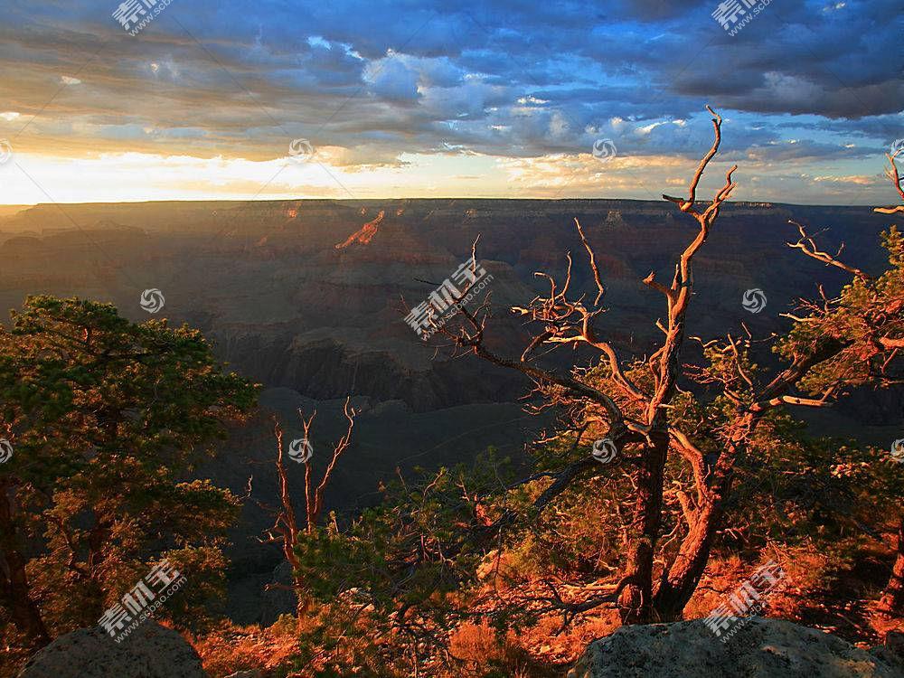 15419,地球,风景,日落,峡谷,风景优美的,壁纸图片