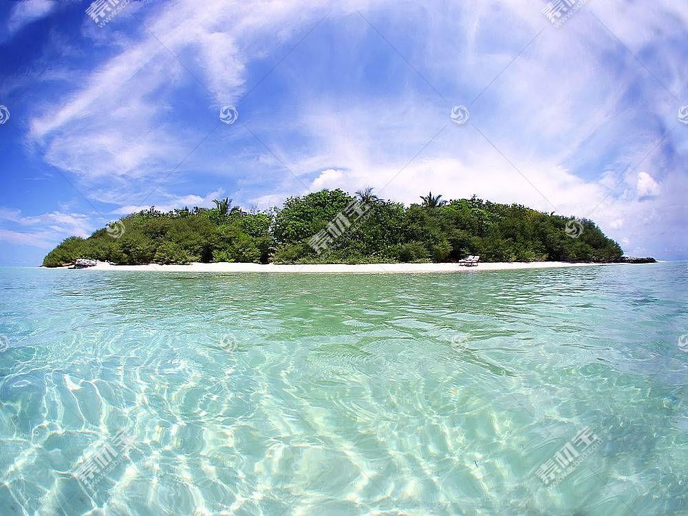 55803,地球,海滩,岛,热带的,壁纸图片