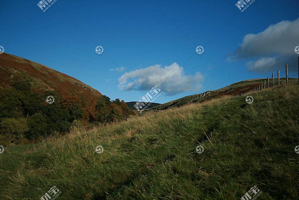 17586,地球,领域,小山,风景,天空,壁纸图片