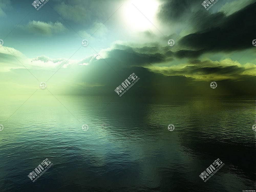 17597,地球,海洋,海景画,太阳,壁纸图片