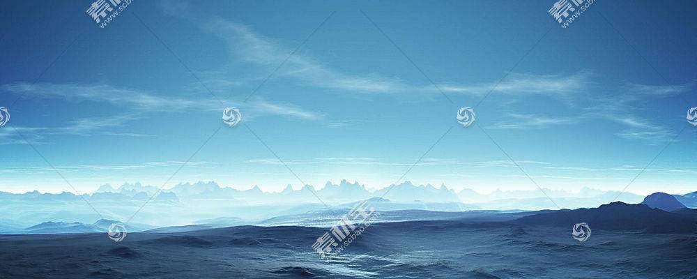 20983,地球,冬天的,海洋,海景画,山,壁纸图片