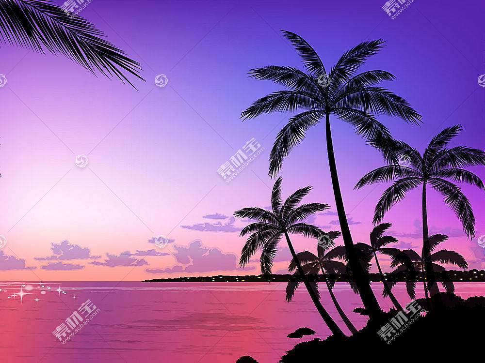 22135,地球,海滩,手掌,树,海洋,壁纸图片