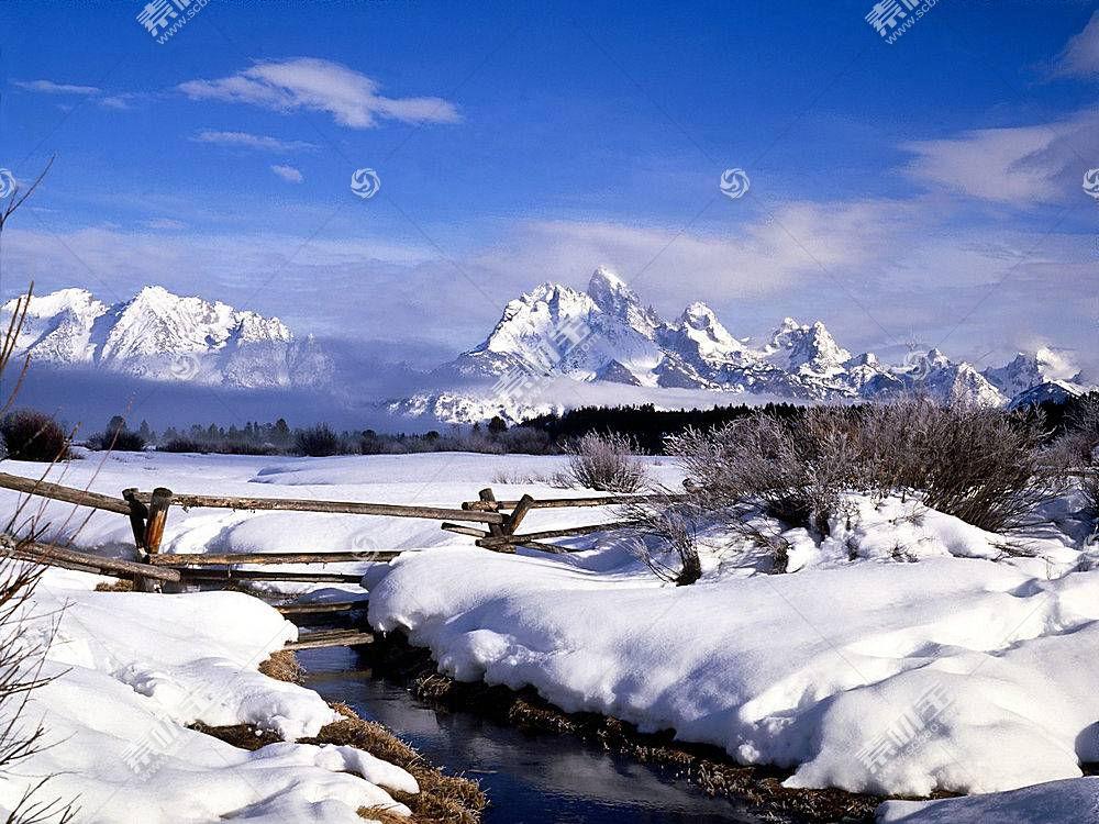 22562,地球,冬天的,雪,山,壁纸图片