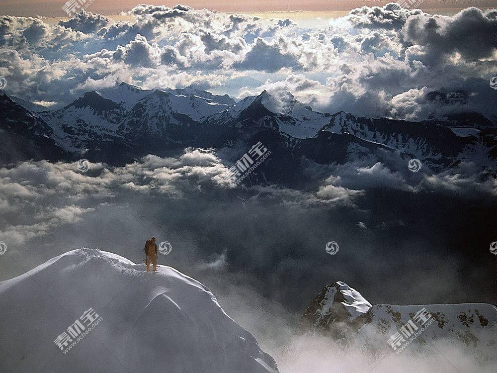 87744,地球,山,山脉,瑞士,阿尔卑斯山脉,攀爬,极端的,攀爬,壁纸