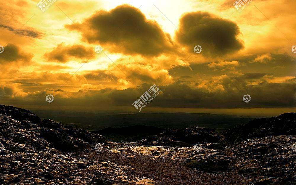 36474,地球,沙漠,云,日落,壁纸图片