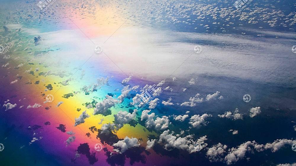 彩虹云彩壁纸图片