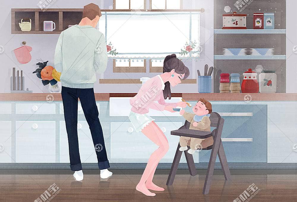 喂宝宝育儿插图