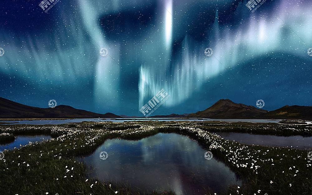 279547,地球,曙光,北极星,壁纸