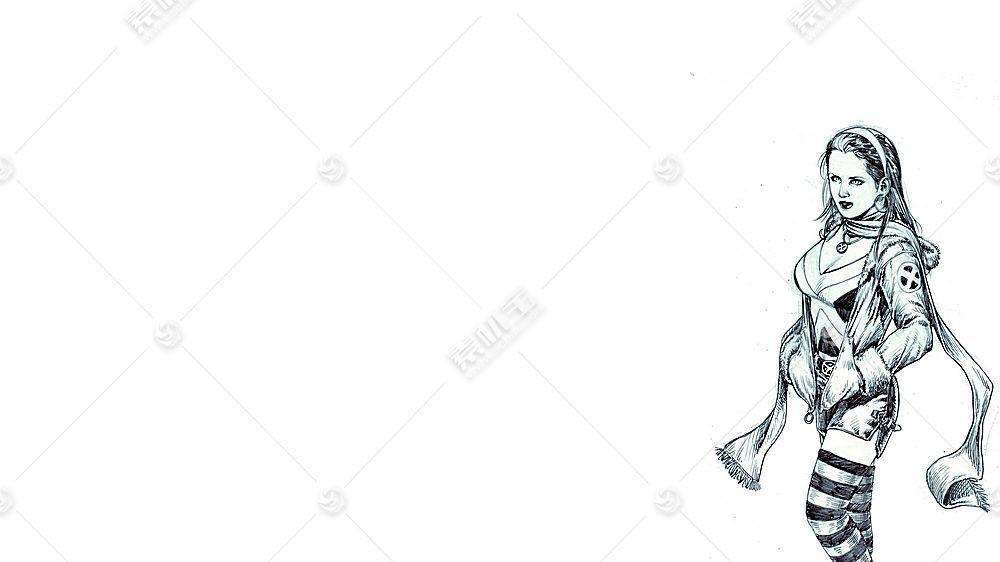 漫画壁纸,x战警,流氓,壁纸(6)