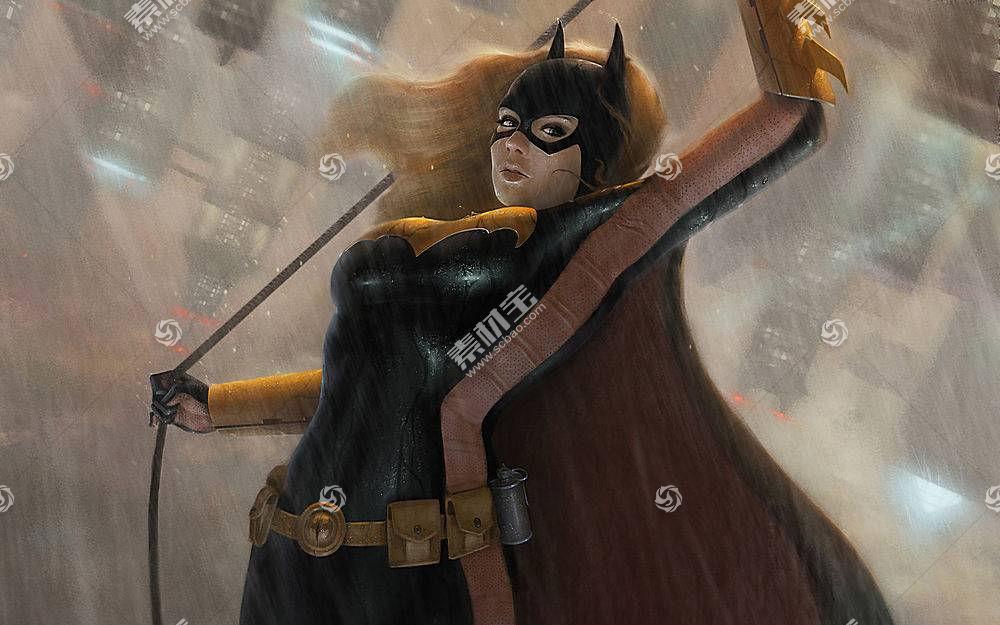 漫画壁纸,蝙蝠女侠,女孩,面具,长的,头发,雨,手套,紧身衣裤,腰带,