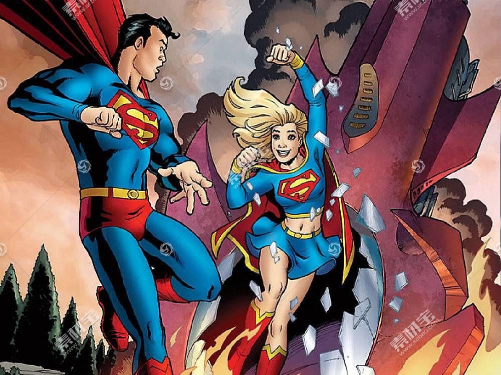 漫画壁纸,超人,超级女声,壁纸(2)