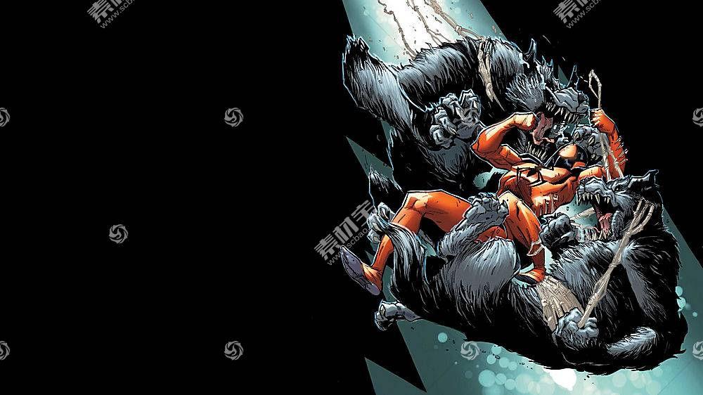 漫画壁纸,红衣,蜘蛛,壁纸(7)