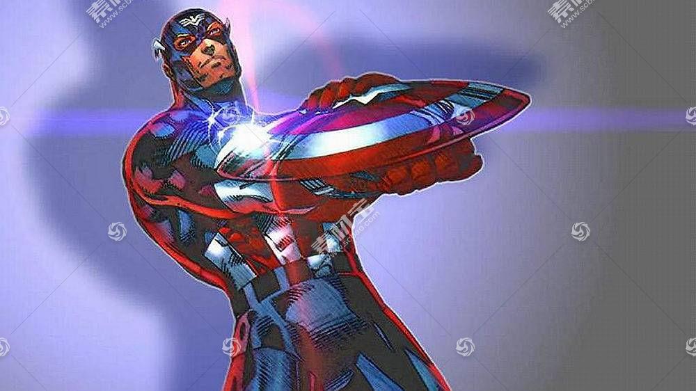 漫画壁纸,船长,美国,壁纸(11)