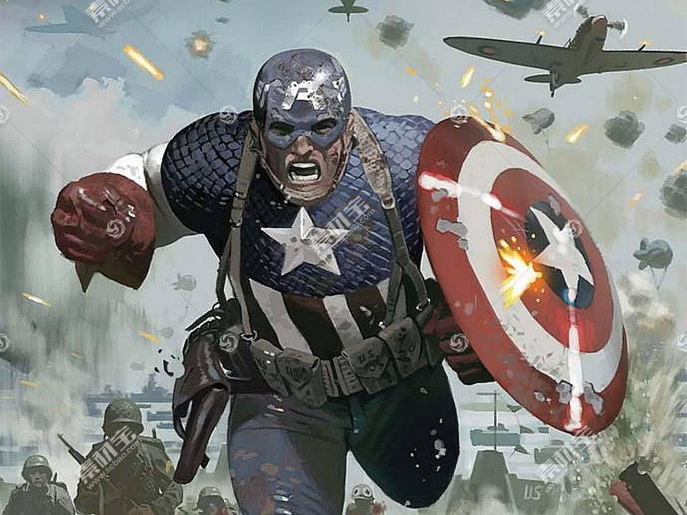 漫画壁纸,船长,美国,壁纸(26)