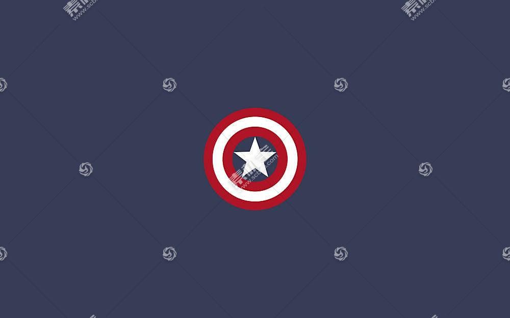 漫画壁纸,船长,美国,壁纸(33)