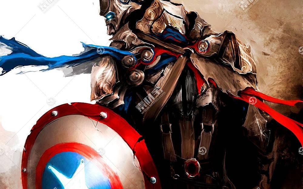 漫画壁纸,船长,美国,壁纸(47)