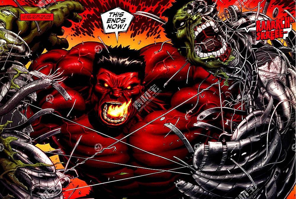 漫画壁纸,赫然显现,红色,赫然显现,壁纸
