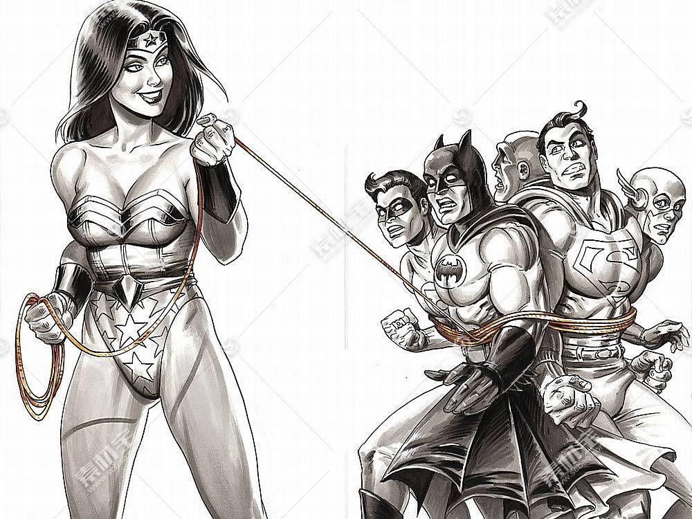 漫画壁纸,公正,联盟,奇迹,妇女,勤务兵,超人,绿色的,灯笼,闪光,哥