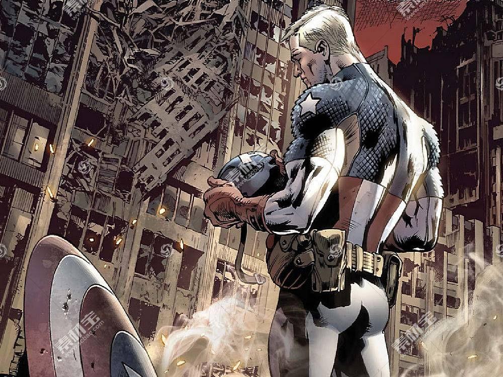 漫画壁纸,船长,美国,壁纸(51)
