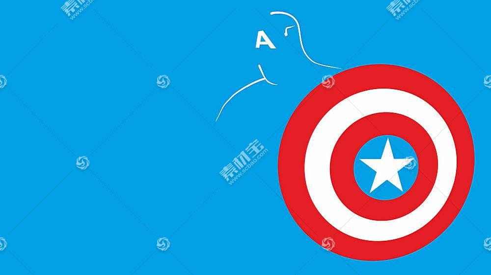 漫画壁纸,船长,美国,壁纸(58)