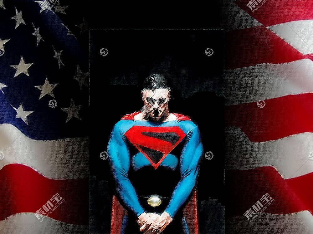 漫画壁纸,超人,壁纸(1)
