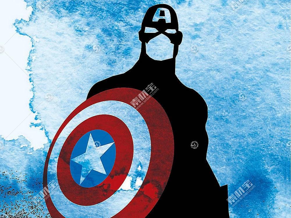 漫画壁纸,船长,美国,壁纸(61)
